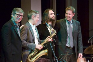 Darius Brubeck Quartet on stage