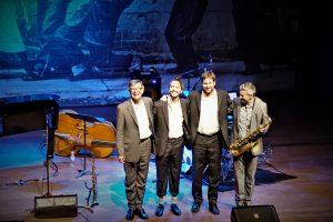 Darius Brubeck quartet takes a bow
