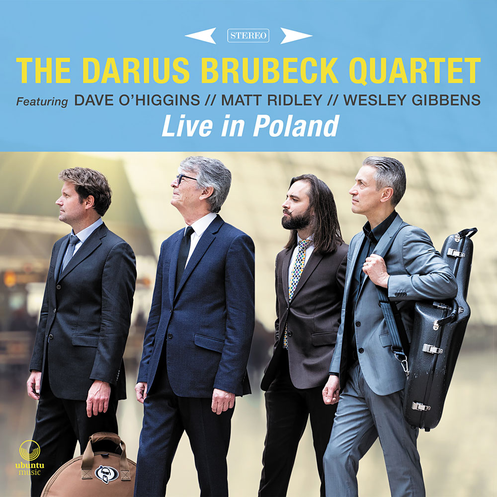 Darius Brubeck Quartet Live in Poland album cover